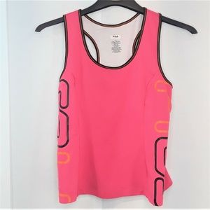Fila Tank Active Wear Shirt Womens SIze XL Pink